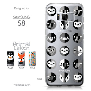 Samsung Galaxy S8 case Animal Cartoon 3639 Collection | CASEiLIKE.com