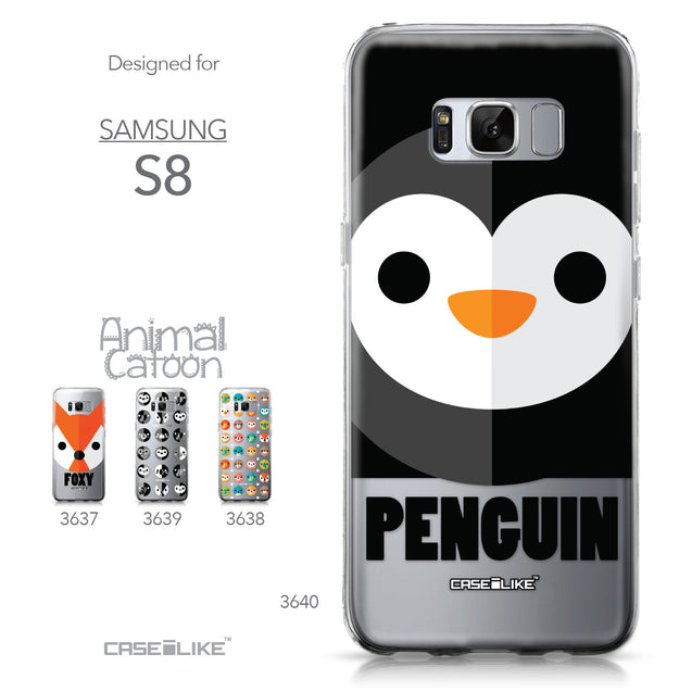 Samsung Galaxy S8 case Animal Cartoon 3640 Collection | CASEiLIKE.com