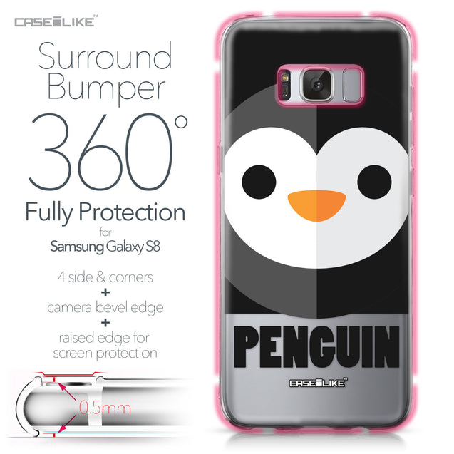 Samsung Galaxy S8 case Animal Cartoon 3640 Bumper Case Protection | CASEiLIKE.com