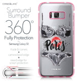 Samsung Galaxy S8 case Paris Holiday 3910 Bumper Case Protection | CASEiLIKE.com