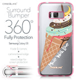 Samsung Galaxy S8 case Ice Cream 4820 Bumper Case Protection | CASEiLIKE.com