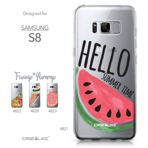 Samsung Galaxy S8 case Water Melon 4821 Collection | CASEiLIKE.com