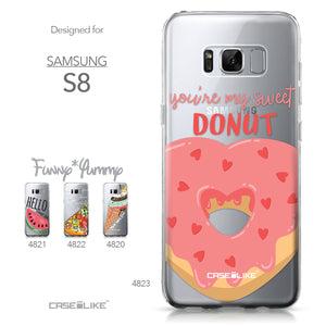 Samsung Galaxy S8 case Dounuts 4823 Collection | CASEiLIKE.com