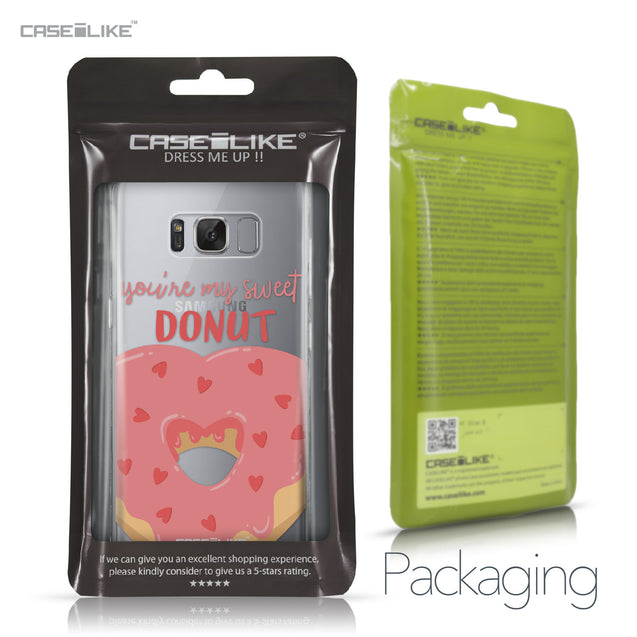 Samsung Galaxy S8 case Dounuts 4823 Retail Packaging | CASEiLIKE.com