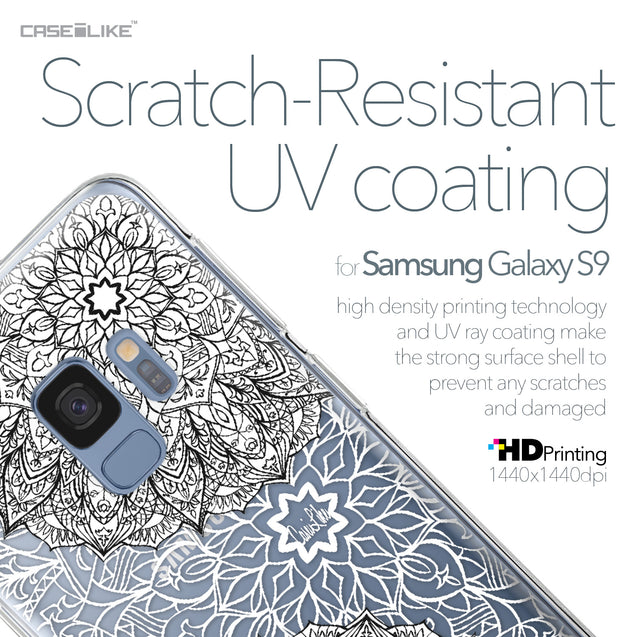 Samsung Galaxy S9 case Mandala Art 2093 with UV-Coating Scratch-Resistant Case | CASEiLIKE.com