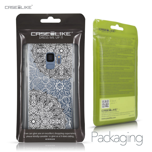 Samsung Galaxy S9 case Mandala Art 2093 Retail Packaging | CASEiLIKE.com