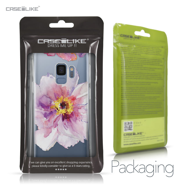 Samsung Galaxy S9 case Watercolor Floral 2231 Retail Packaging | CASEiLIKE.com