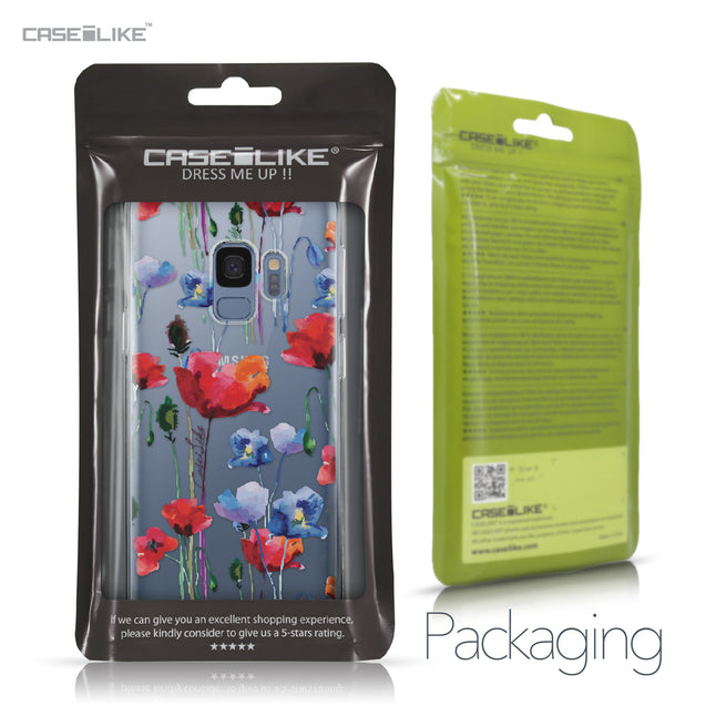 Samsung Galaxy S9 case Watercolor Floral 2234 Retail Packaging | CASEiLIKE.com