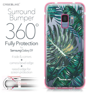 Samsung Galaxy S9 case Tropical Palm Tree 2238 Bumper Case Protection | CASEiLIKE.com