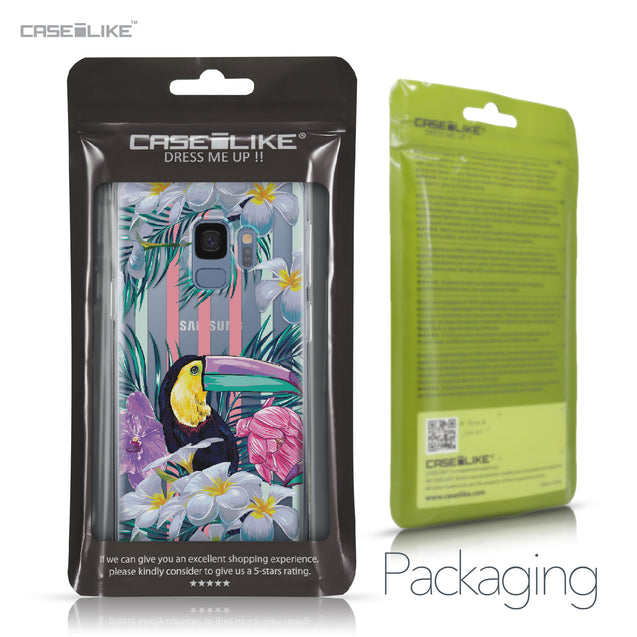 Samsung Galaxy S9 case Tropical Floral 2240 Retail Packaging | CASEiLIKE.com