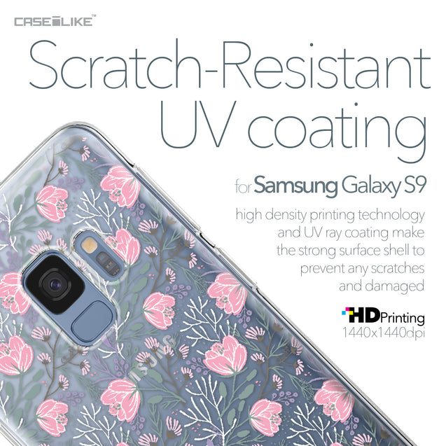 Samsung Galaxy S9 case Flowers Herbs 2246 with UV-Coating Scratch-Resistant Case | CASEiLIKE.com