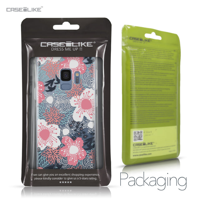 Samsung Galaxy S9 case Japanese Floral 2255 Retail Packaging | CASEiLIKE.com
