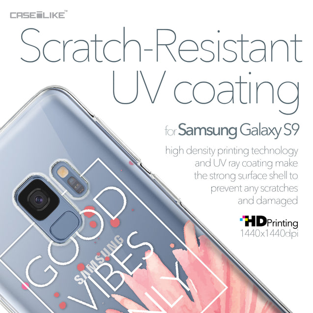 Samsung Galaxy S9 case Gerbera 2258 with UV-Coating Scratch-Resistant Case | CASEiLIKE.com