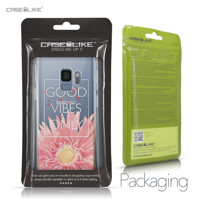 Samsung Galaxy S9 case Gerbera 2258 Retail Packaging | CASEiLIKE.com