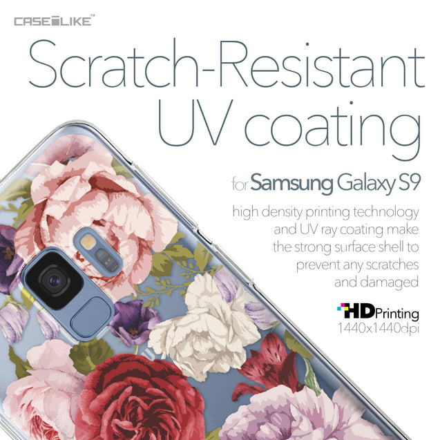 Samsung Galaxy S9 case Mixed Roses 2259 with UV-Coating Scratch-Resistant Case | CASEiLIKE.com