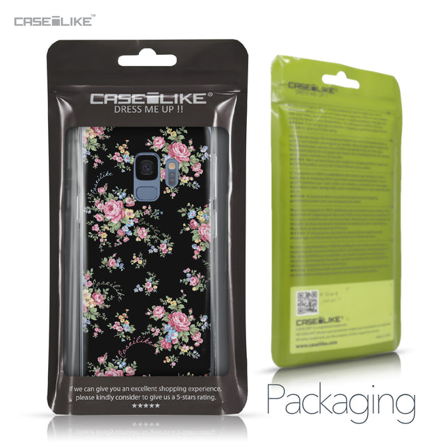 Samsung Galaxy S9 case Floral Rose Classic 2261 Retail Packaging | CASEiLIKE.com