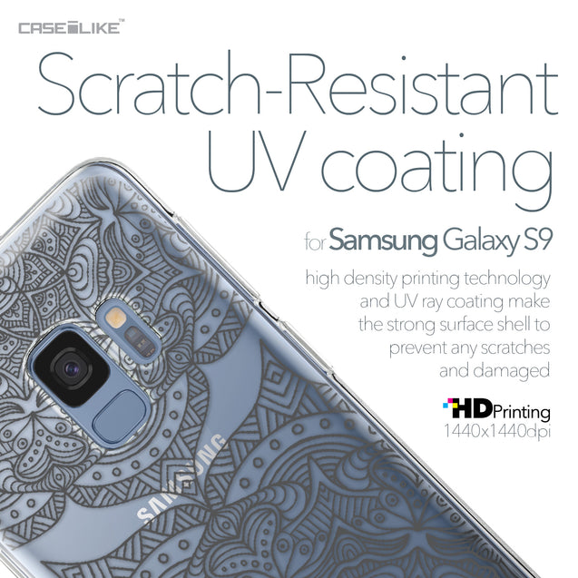 Samsung Galaxy S9 case Mandala Art 2304 with UV-Coating Scratch-Resistant Case | CASEiLIKE.com