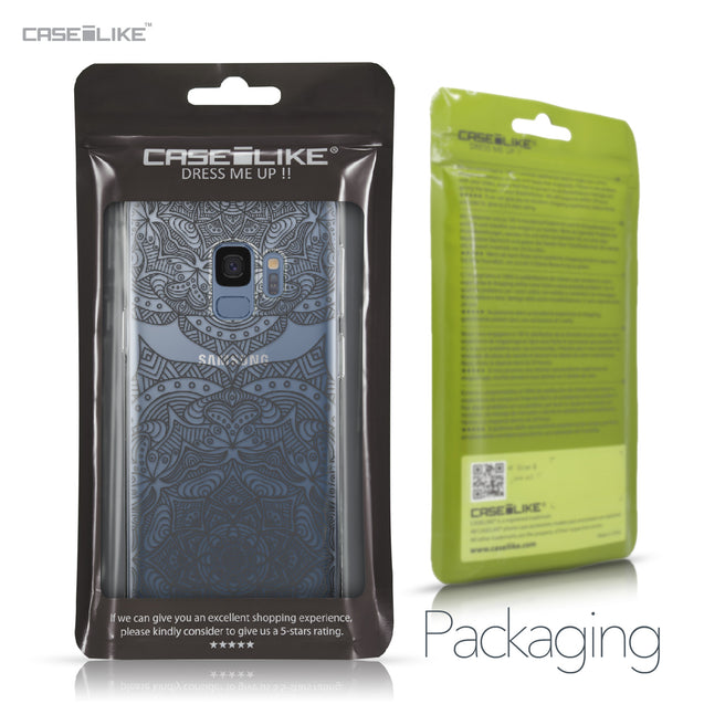 Samsung Galaxy S9 case Mandala Art 2304 Retail Packaging | CASEiLIKE.com
