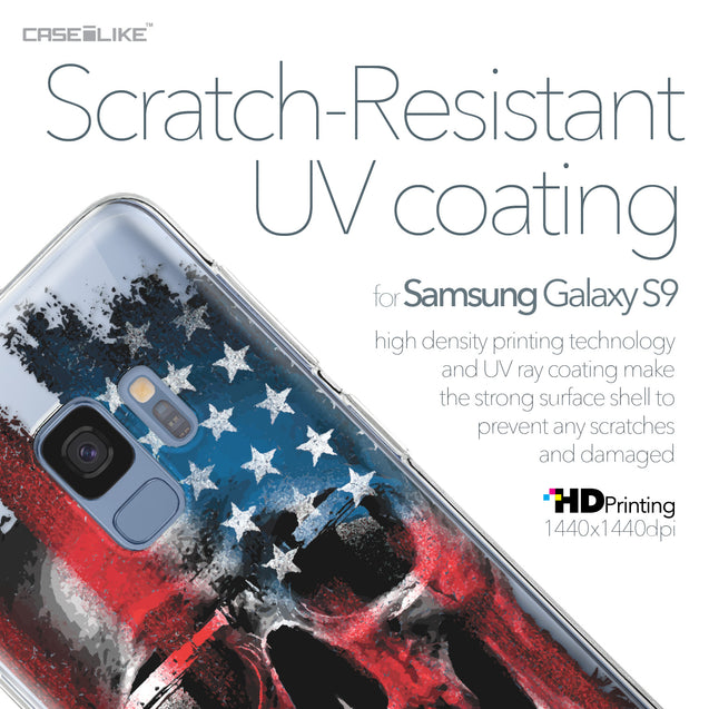 Samsung Galaxy S9 case Art of Skull 2532 with UV-Coating Scratch-Resistant Case | CASEiLIKE.com
