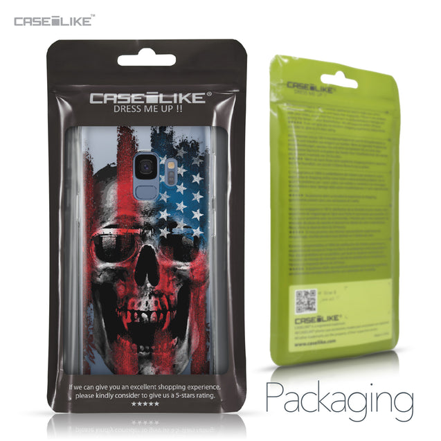 Samsung Galaxy S9 case Art of Skull 2532 Retail Packaging | CASEiLIKE.com