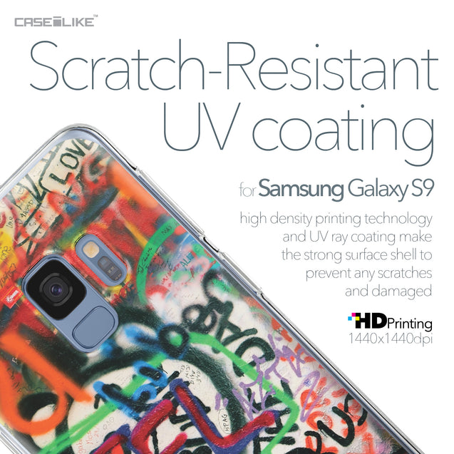 Samsung Galaxy S9 case Graffiti 2721 with UV-Coating Scratch-Resistant Case | CASEiLIKE.com