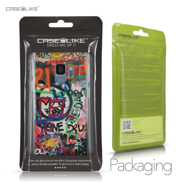 Samsung Galaxy S9 case Graffiti 2721 Retail Packaging | CASEiLIKE.com