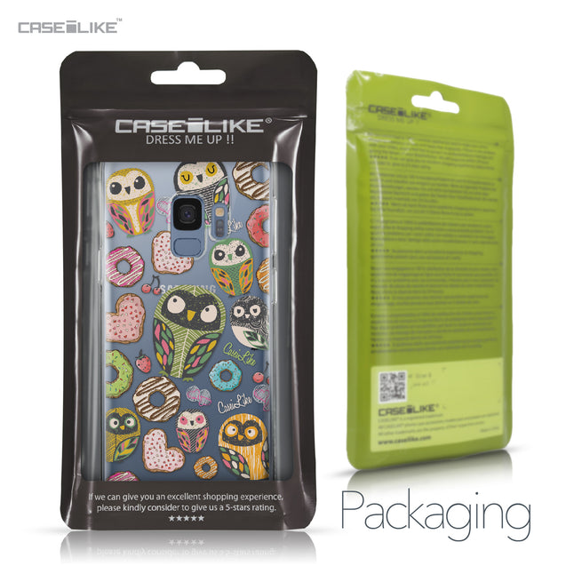Samsung Galaxy S9 case Owl Graphic Design 3315 Retail Packaging | CASEiLIKE.com
