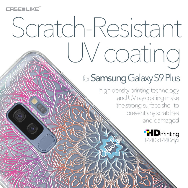 Samsung Galaxy S9 Plus case Mandala Art 2090 with UV-Coating Scratch-Resistant Case | CASEiLIKE.com