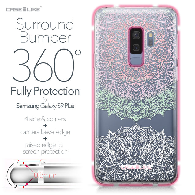 Samsung Galaxy S9 Plus case Mandala Art 2092 Bumper Case Protection | CASEiLIKE.com
