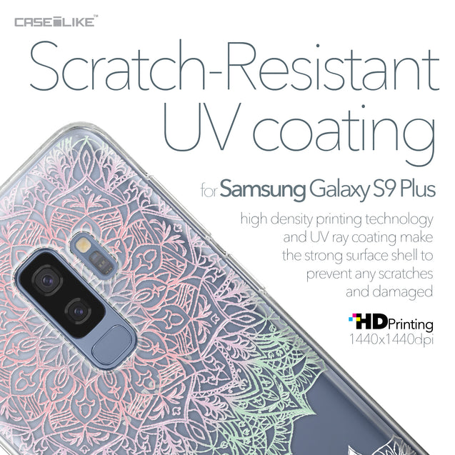 Samsung Galaxy S9 Plus case Mandala Art 2092 with UV-Coating Scratch-Resistant Case | CASEiLIKE.com