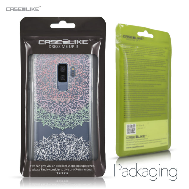 Samsung Galaxy S9 Plus case Mandala Art 2092 Retail Packaging | CASEiLIKE.com