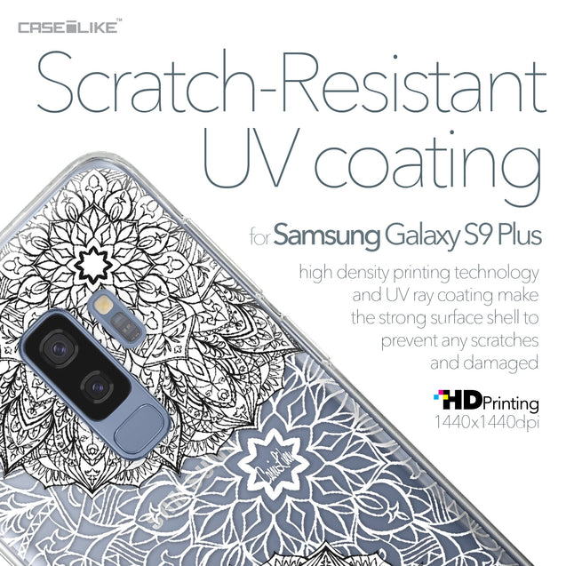 Samsung Galaxy S9 Plus case Mandala Art 2093 with UV-Coating Scratch-Resistant Case | CASEiLIKE.com