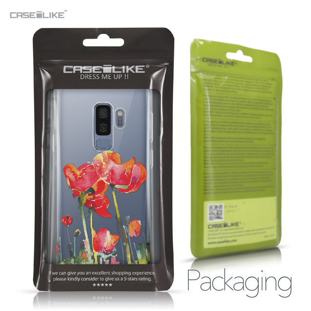 Samsung Galaxy S9 Plus case Watercolor Floral 2230 Retail Packaging | CASEiLIKE.com