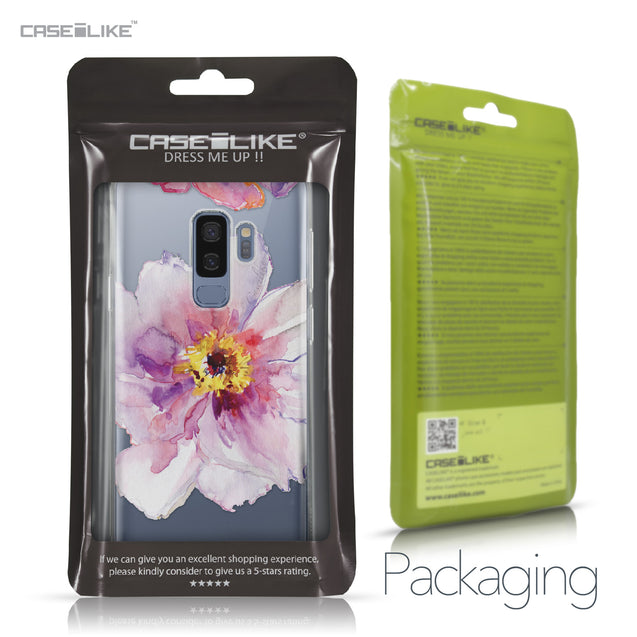 Samsung Galaxy S9 Plus case Watercolor Floral 2231 Retail Packaging | CASEiLIKE.com