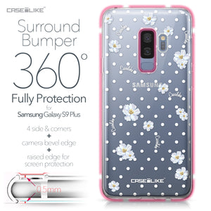 Samsung Galaxy S9 Plus case Watercolor Floral 2235 Bumper Case Protection | CASEiLIKE.com