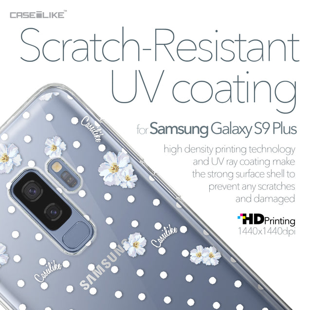 Samsung Galaxy S9 Plus case Watercolor Floral 2235 with UV-Coating Scratch-Resistant Case | CASEiLIKE.com