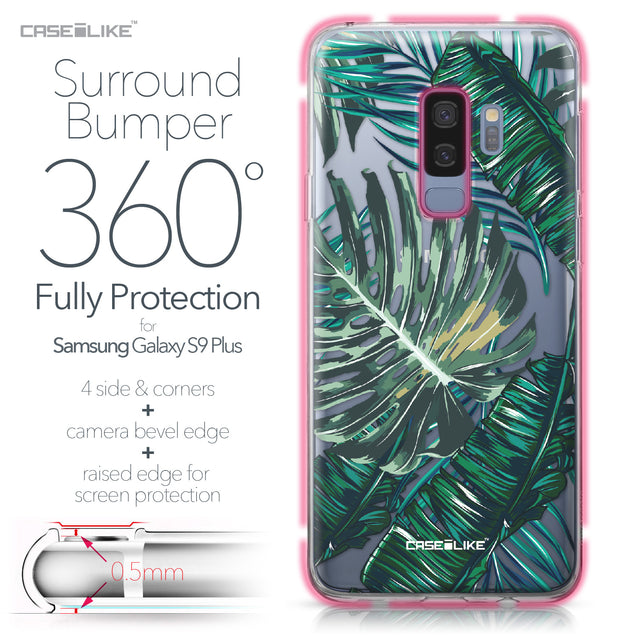 Samsung Galaxy S9 Plus case Tropical Palm Tree 2238 Bumper Case Protection | CASEiLIKE.com