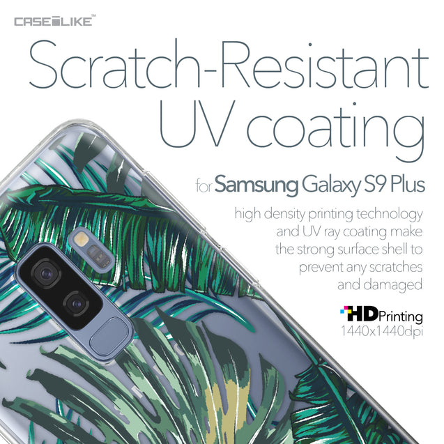 Samsung Galaxy S9 Plus case Tropical Palm Tree 2238 with UV-Coating Scratch-Resistant Case | CASEiLIKE.com