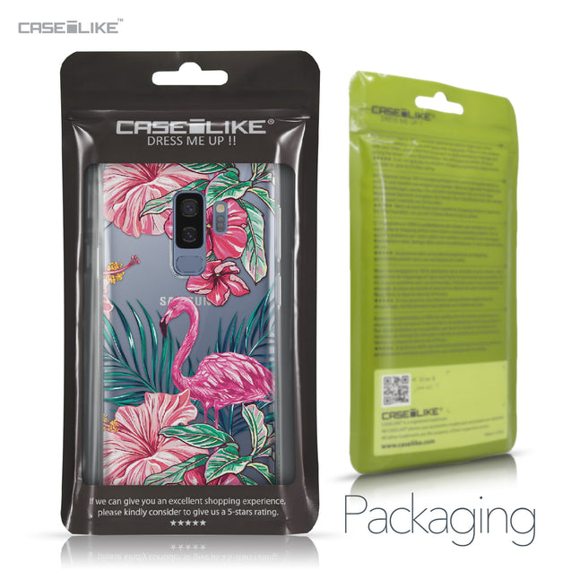 Samsung Galaxy S9 Plus case Tropical Flamingo 2239 Retail Packaging | CASEiLIKE.com