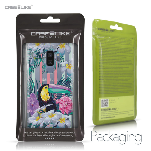 Samsung Galaxy S9 Plus case Tropical Floral 2240 Retail Packaging | CASEiLIKE.com
