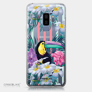 Samsung Galaxy S9 Plus case Tropical Floral 2240 | CASEiLIKE.com