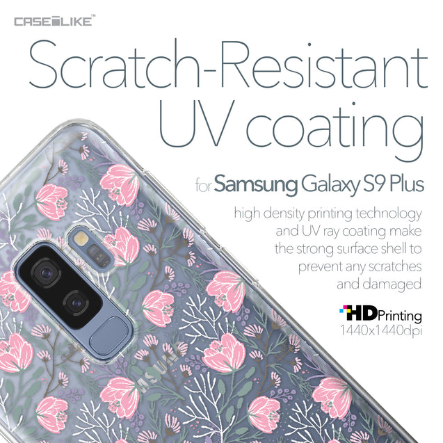 Samsung Galaxy S9 Plus case Flowers Herbs 2246 with UV-Coating Scratch-Resistant Case | CASEiLIKE.com