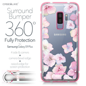 Samsung Galaxy S9 Plus case Hydrangea 2257 Bumper Case Protection | CASEiLIKE.com