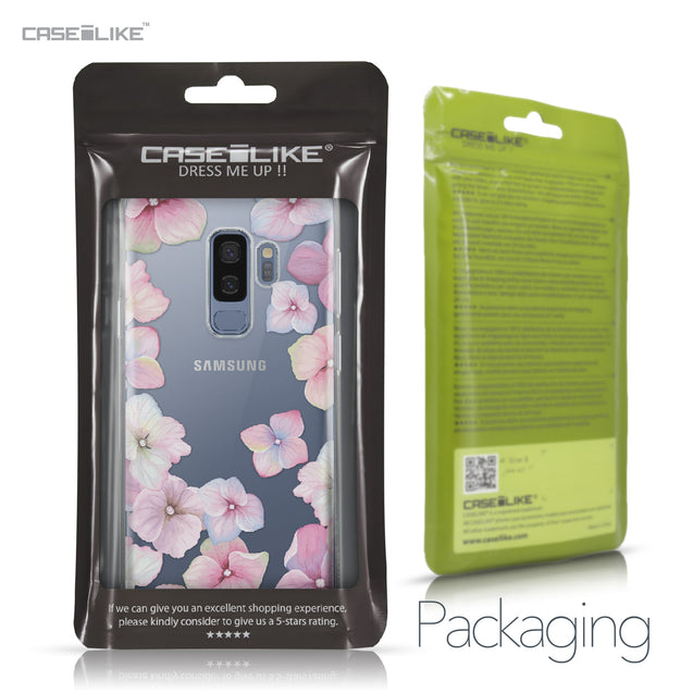 Samsung Galaxy S9 Plus case Hydrangea 2257 Retail Packaging | CASEiLIKE.com