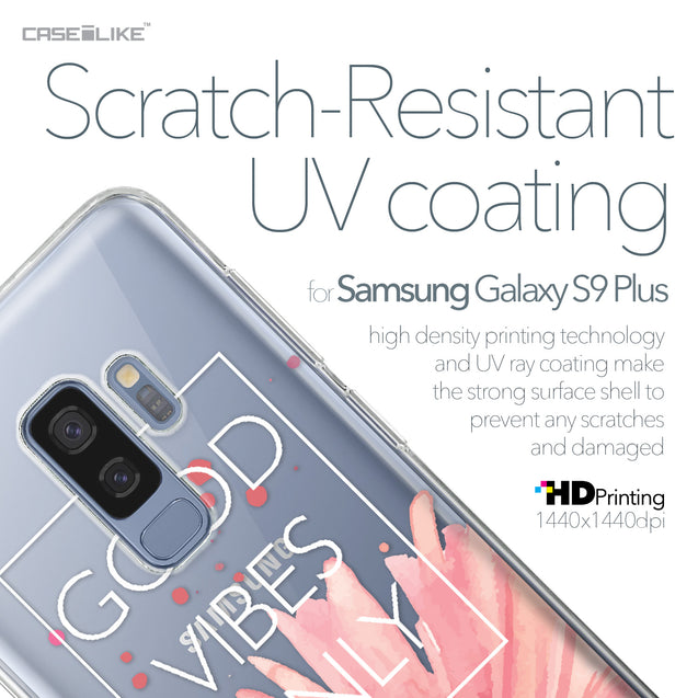 Samsung Galaxy S9 Plus case Gerbera 2258 with UV-Coating Scratch-Resistant Case | CASEiLIKE.com