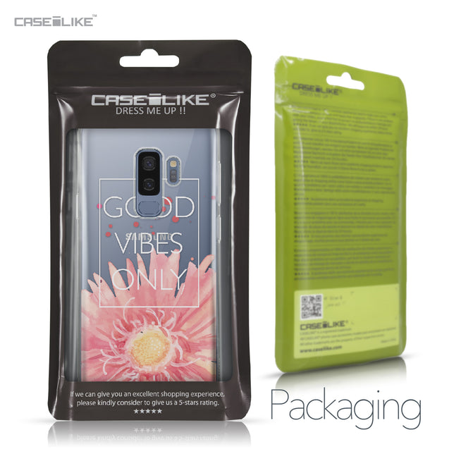 Samsung Galaxy S9 Plus case Gerbera 2258 Retail Packaging | CASEiLIKE.com