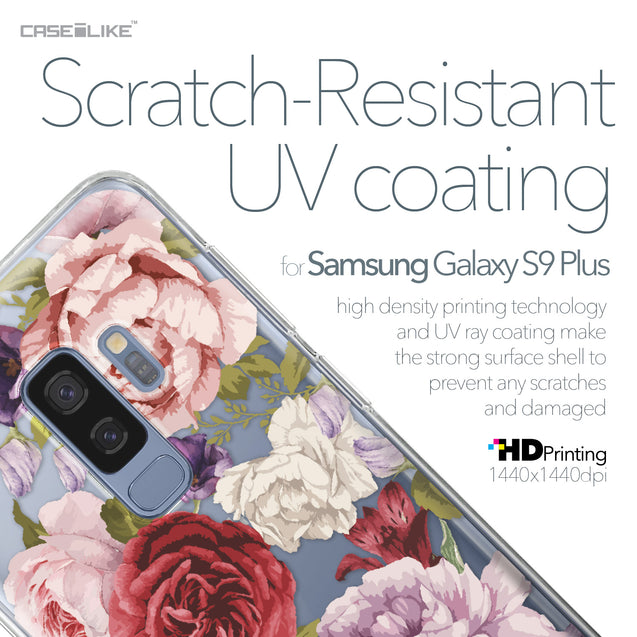 Samsung Galaxy S9 Plus case Mixed Roses 2259 with UV-Coating Scratch-Resistant Case | CASEiLIKE.com