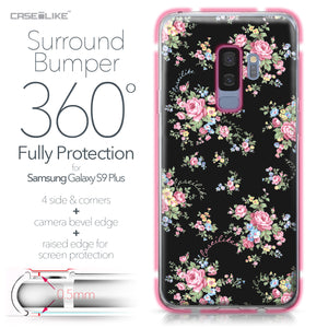 Samsung Galaxy S9 Plus case Floral Rose Classic 2261 Bumper Case Protection | CASEiLIKE.com