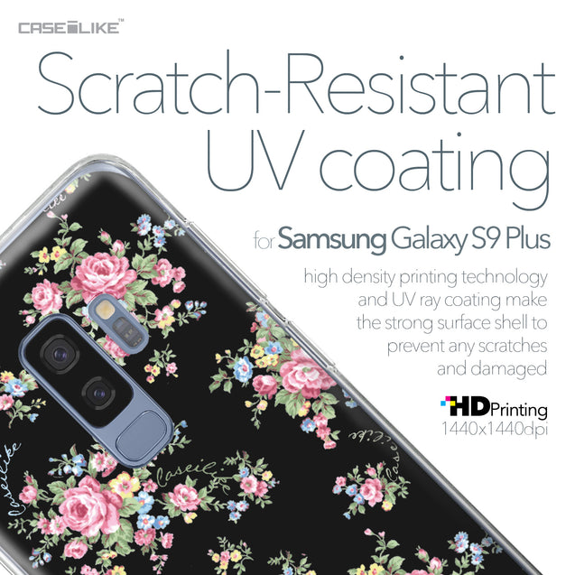 Samsung Galaxy S9 Plus case Floral Rose Classic 2261 with UV-Coating Scratch-Resistant Case | CASEiLIKE.com