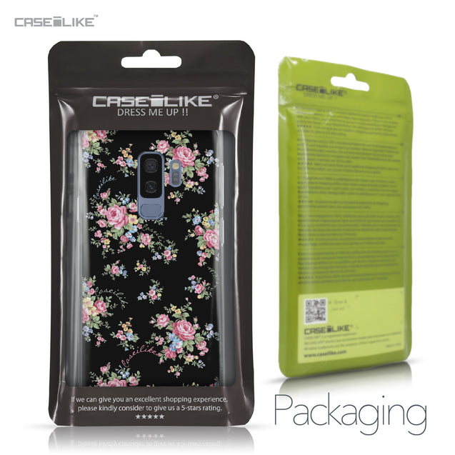 Samsung Galaxy S9 Plus case Floral Rose Classic 2261 Retail Packaging | CASEiLIKE.com